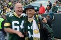 Jerry Kramer (64) during a Green Bay Packers game