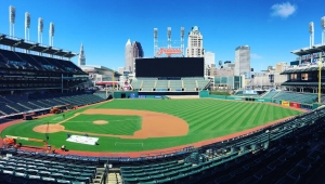 New Progressive Field Scoreboard