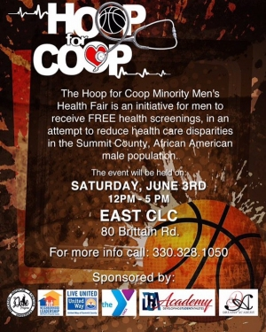 AUDIO 'Hoop For Coop'  Health Fair Returns To Akron