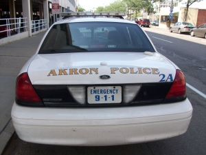 Akron Woman Shot While Driving