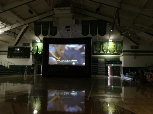 A watch party was held inside LeBron James' alma mater at St. Vincent - St. Mary High School.