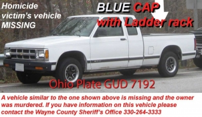 Wayne Co. Sheriff Looking For Victim's Truck