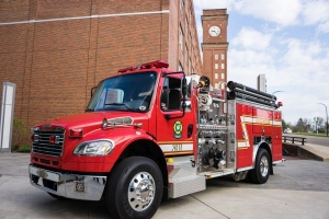 Goodyear fire truck donated to Akron Fire Department