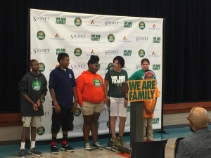 LJFF, Signet Team Up For Mentoring APS Students