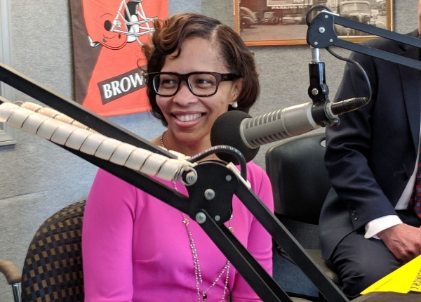 Tara Samples discusses talks about her candidacy for Lieutenant Governor on 1590 WAKR's The Jasen Sokol Show