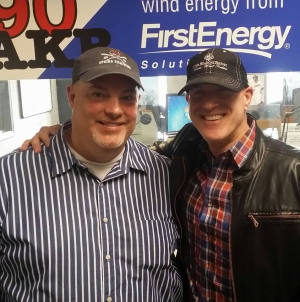 WAKR's Sam Bourquin and Bruno Gunn