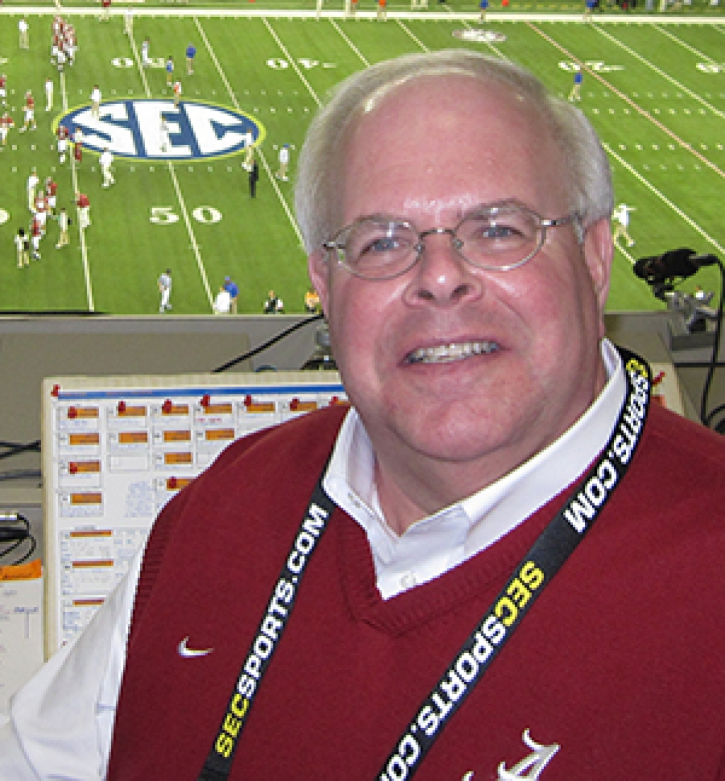 Eli Gold, Alabama Play by Play Radio Voice