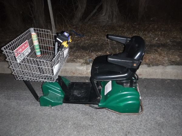 Woman Arrested On Motorized Shopping Cart