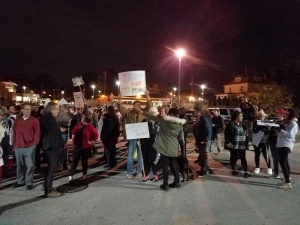 Trump Protests Invade Akron, Remain Peaceful