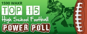 Top 15 High School Football Power Poll Week 9
