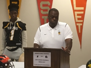 Sonil Haslam, North High School Head Football Coach