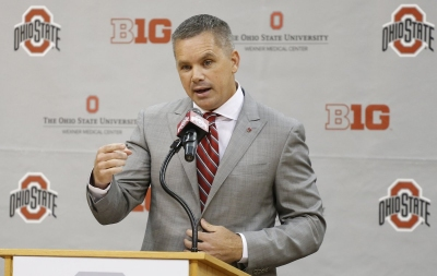 Ohio State head men's basketball coach Chris Holtmann