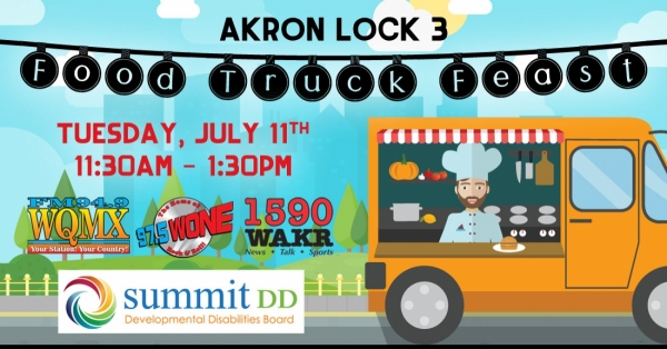 Akron Lock 3 Food Truck Feast