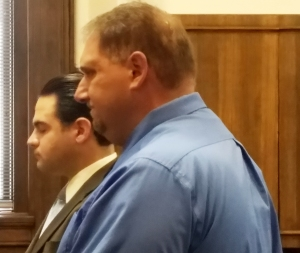 Michael Simmons in court, October 26, 2016