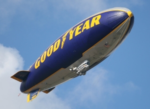 VIDEO Larry O'Brien Trophy's Goodyear Blimp Ride