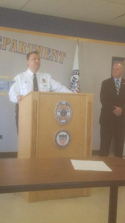 Ken Ball Named Akron's 16th Police Chief