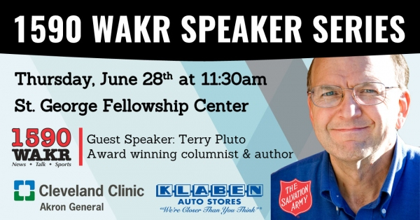 WAKR Speaker Series with Terry Pluto