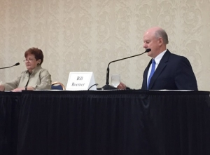 Ilene Shapiro, Bill Roemer at Summit County Executive Debate