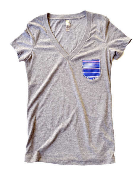 women s pocket tee grande