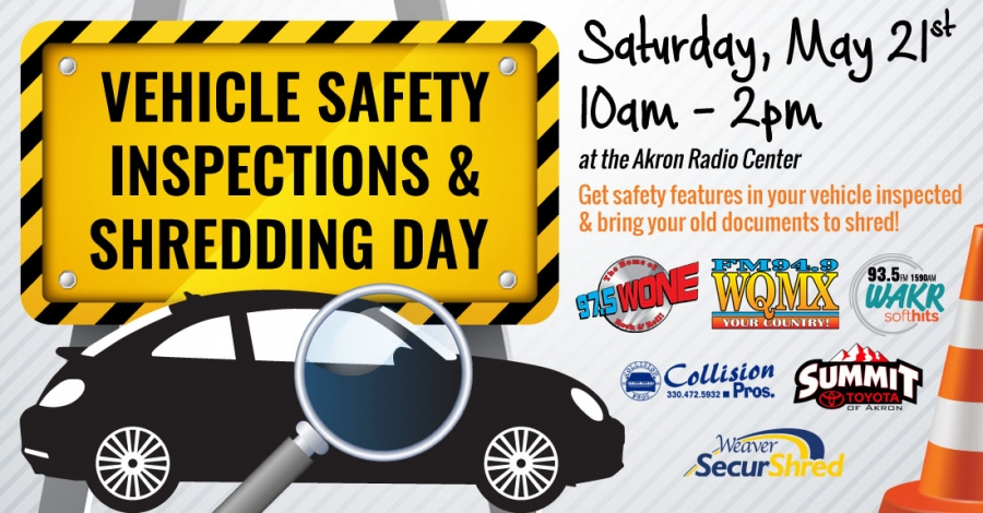 Vehicle Safety Inspection / Shredding Day