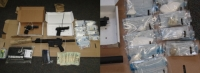 Akron Search Warrant Turns Up Drugs, Guns