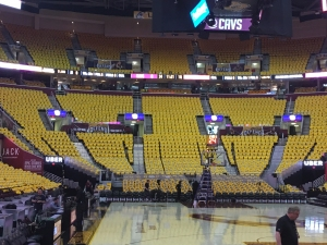 Quicken Loans Arena, Downtown Cleveland ahead of Raptors and Cavaliers