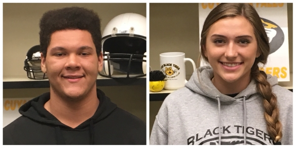 Student Athletes of the Week Donovan Mills and Kaylie Ward: Cuyahoga Falls HS