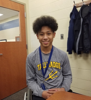 1590 WAKR Student Athlete of the Week: Isaiah Johnson