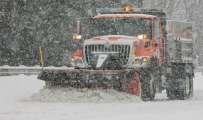 City of Akron Snow Plow