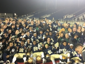 2017 State Champions of Division II Archbishop Hoban Knights