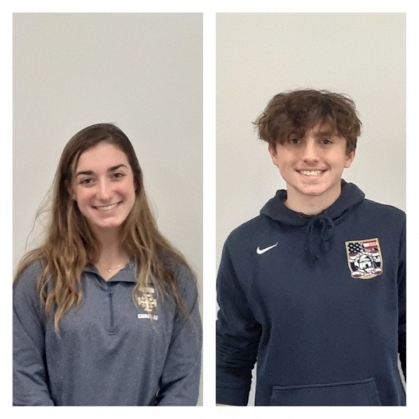 1590 WAKR Student Athletes of the Week: Samantha Huth and Dylan Farah: Hoban HS