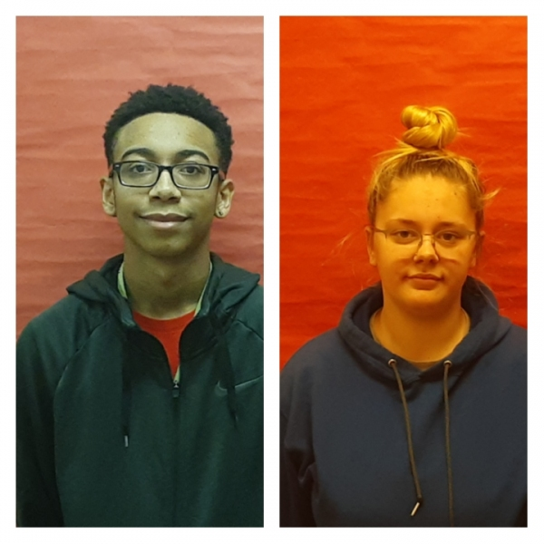 Malcolm Brown and Cheyenne Cunningham Student Athlete of the Week- East CLC