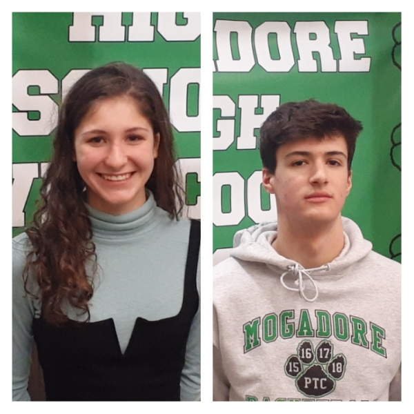 Student Athletes of the Week: Mogadore HS Hope Murphy and Lukas Swartz