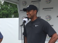 Day #1 Of Bridgestone Solid For Tiger
