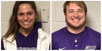 Student Athletes of the Week: Alexis Mayle and Tyler Eberhart
