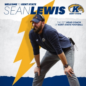 Sean Lewis, new Kent State Football Coach