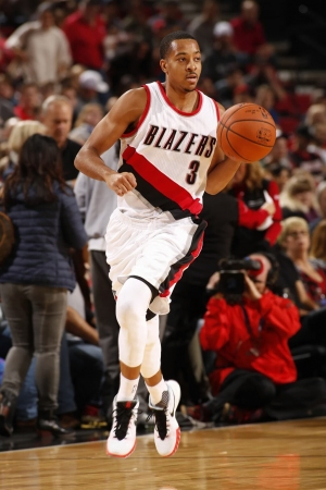 CJ McCollum , Portland Trail Blazers shooting guard