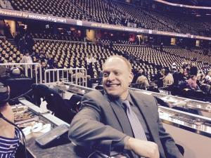 John Michael Cavaliers Radio Play-By-Play Voice on the Cavaliers Radio Network