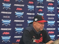 Terry Francona of the Cleveland Indians