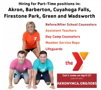 Akron Area Y Looking To Fill Dozens Of Positions