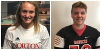 Student Athletes of the Week: Allison Spears and Tim Jervis: Norton HS