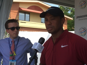 Tiger Woods Recalls Good Memories At Firestone